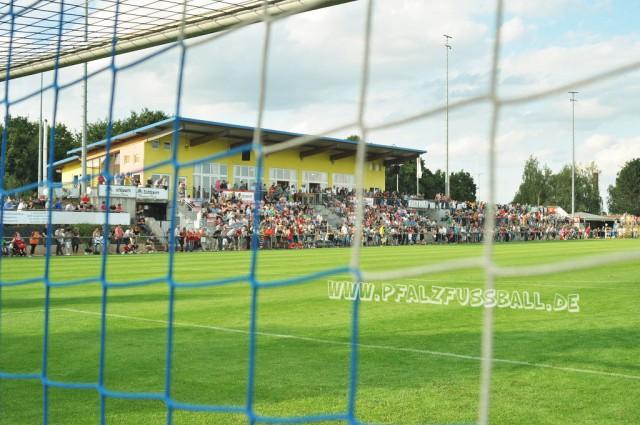 1. FC Kaiserslautern in der Arena Weingarten