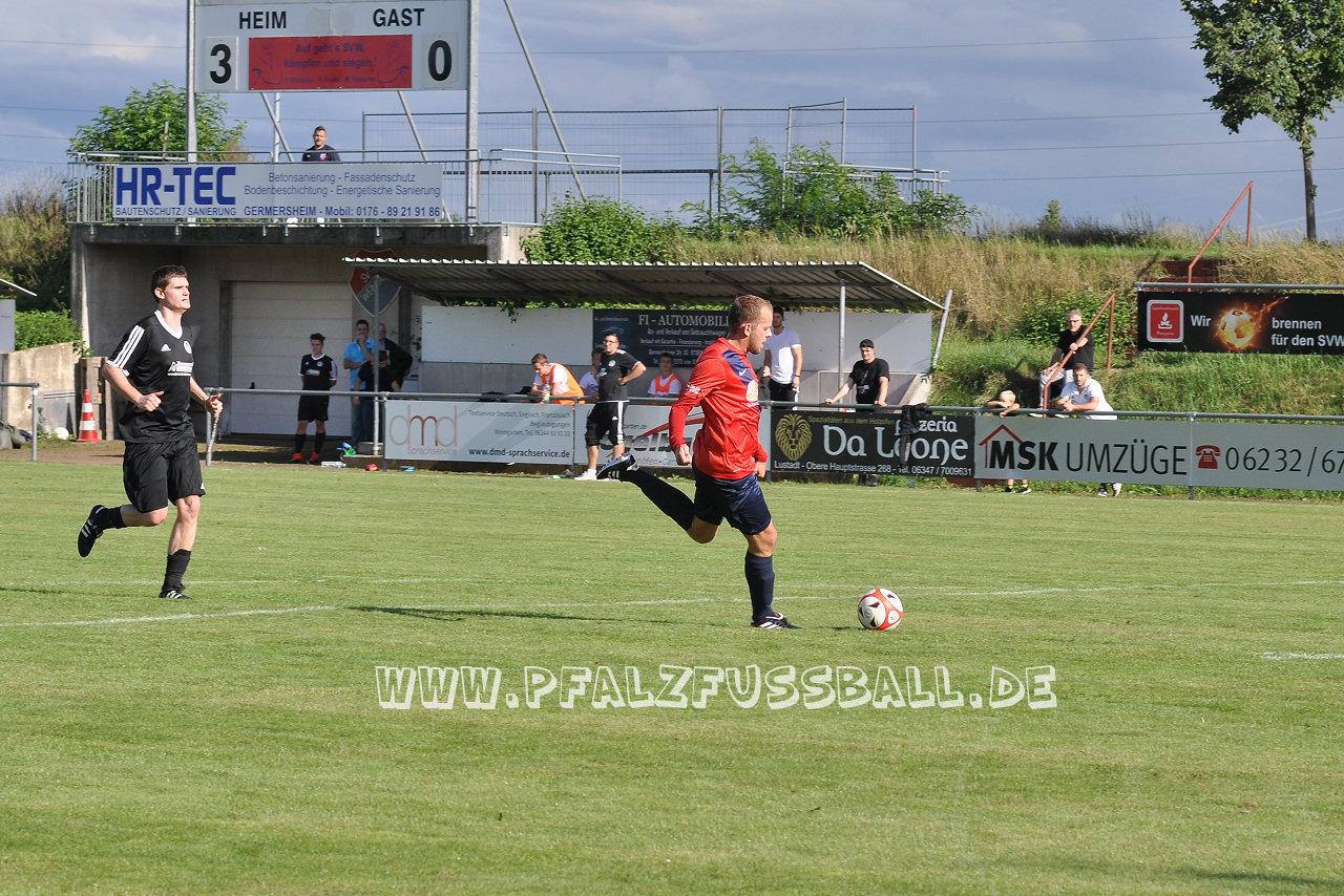 SV Weingarten - FC 08 Haßloch II